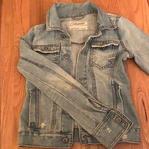 Aeropostale xsmall denim jean jacket
